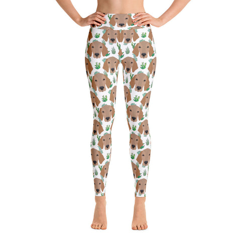 Vizsla Yoga Leggings