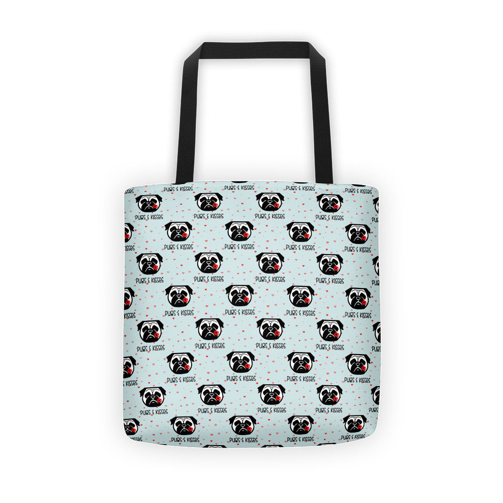Pug & Kisses Tote bag