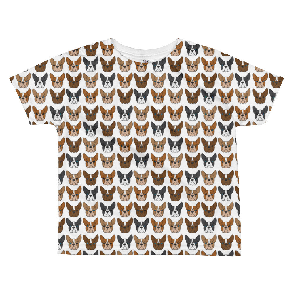Boston Terrier All-over kids sublimation T-shirt