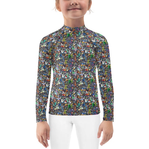 Heartbeat Kids Rash Guard