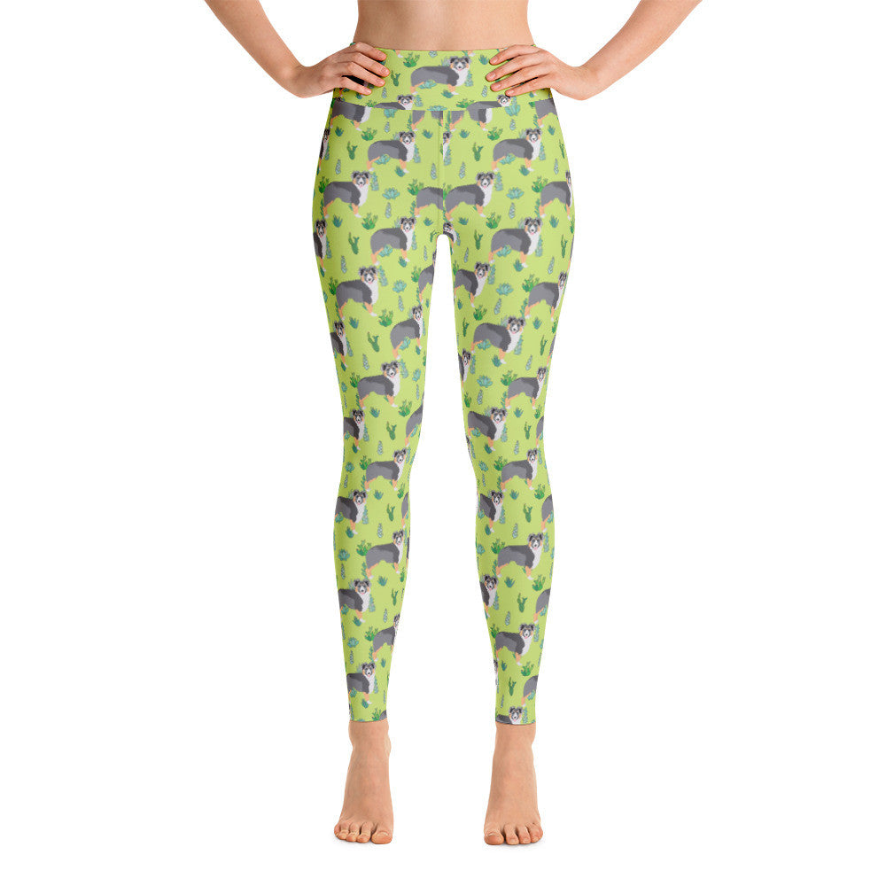 Australian Shepherd Yoga Leggings
