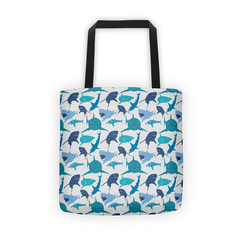 Shark Print Tote bag