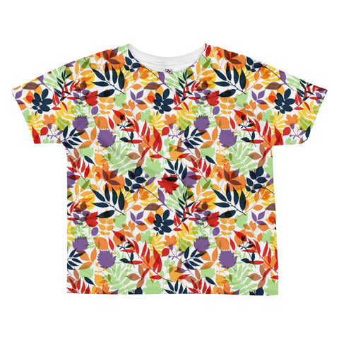 Fall Leaves All-over kids sublimation T-shirt