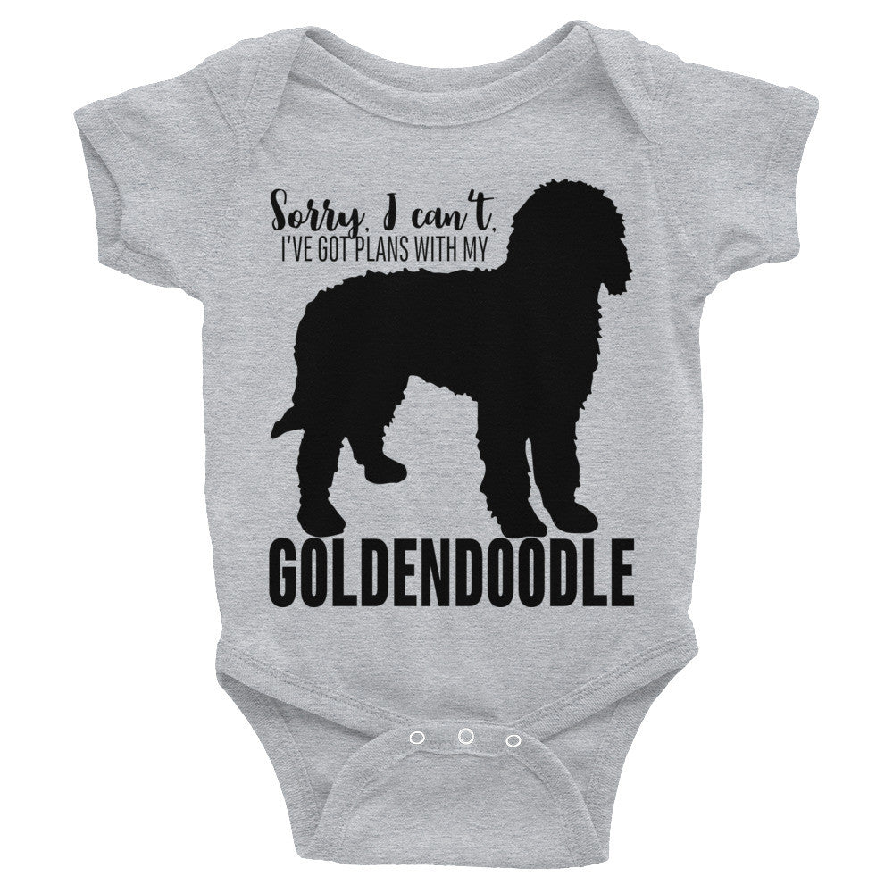 Plans with my Goldendoodle Infant Bodysuit