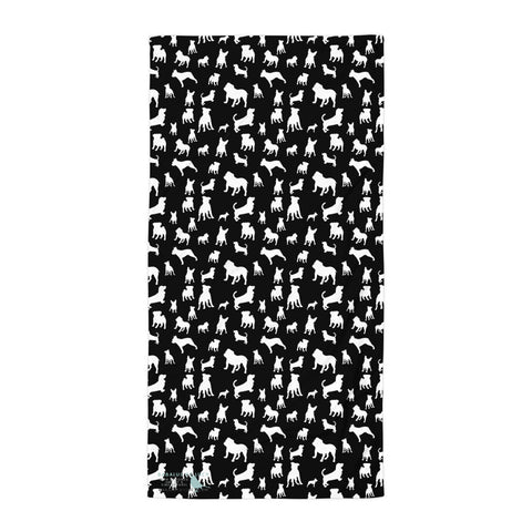 Momochrome Mixed Puppies Towel