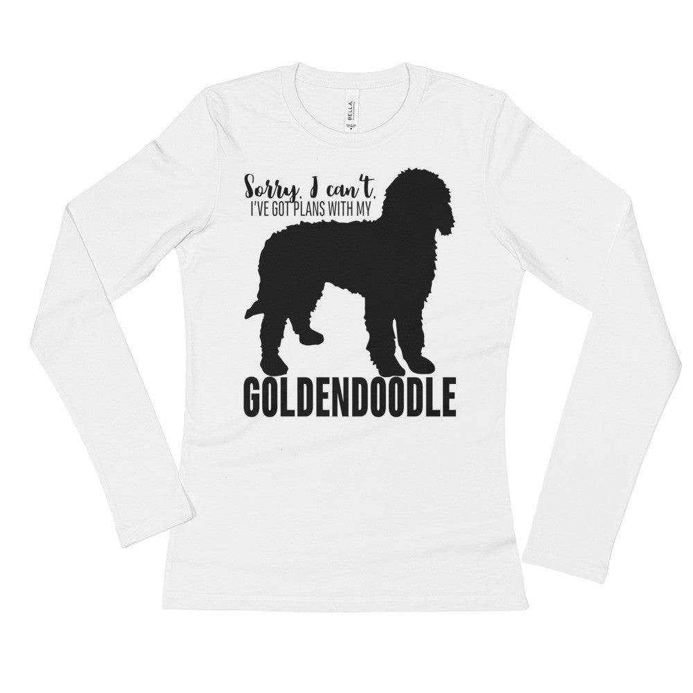 Goldendoodle Ladies' Long Sleeve T-Shirt