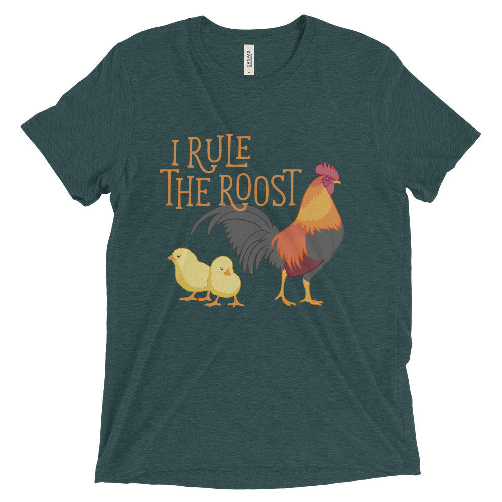 Rule The Roost Chicken Short sleeve t-shirt