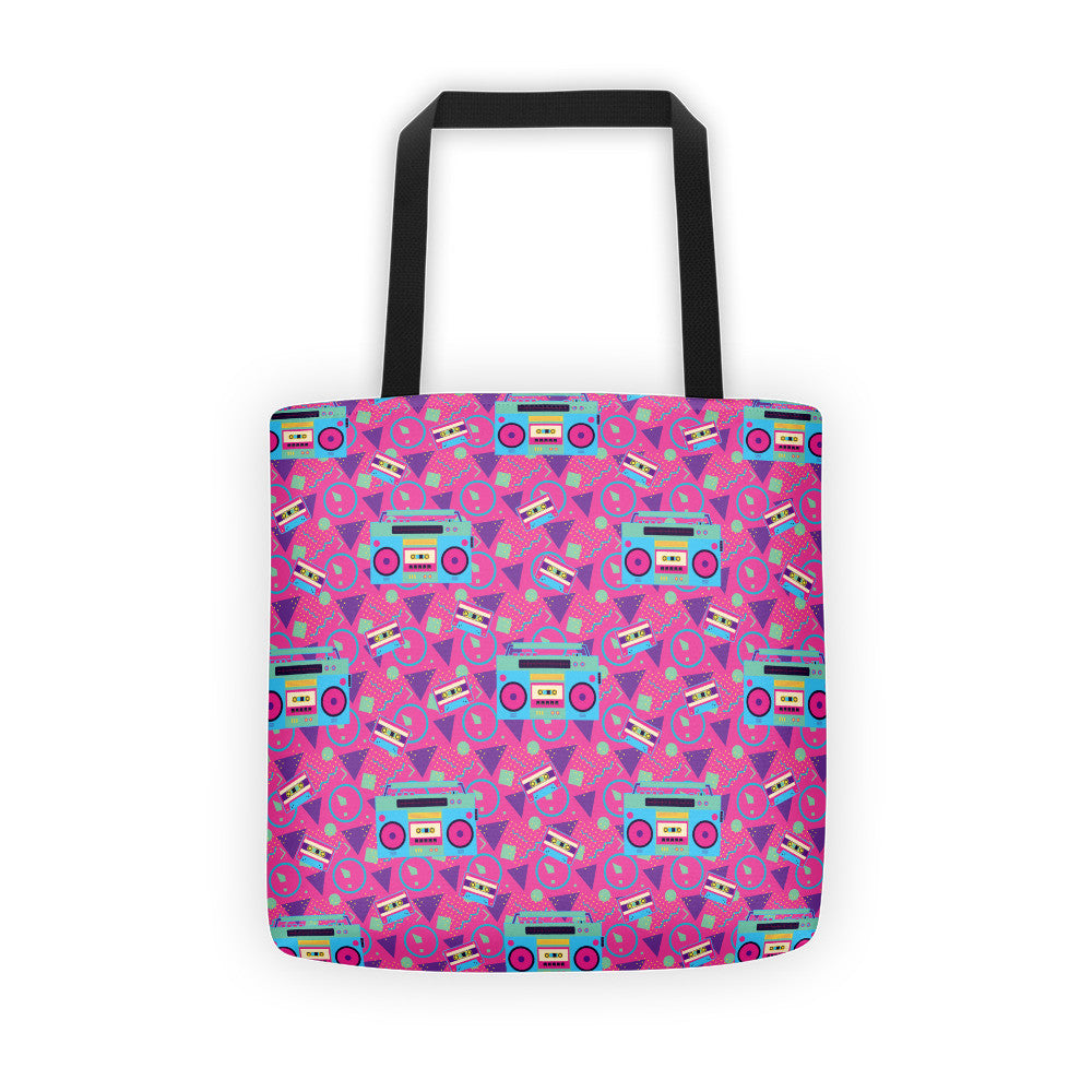 Boom Box Tote bag