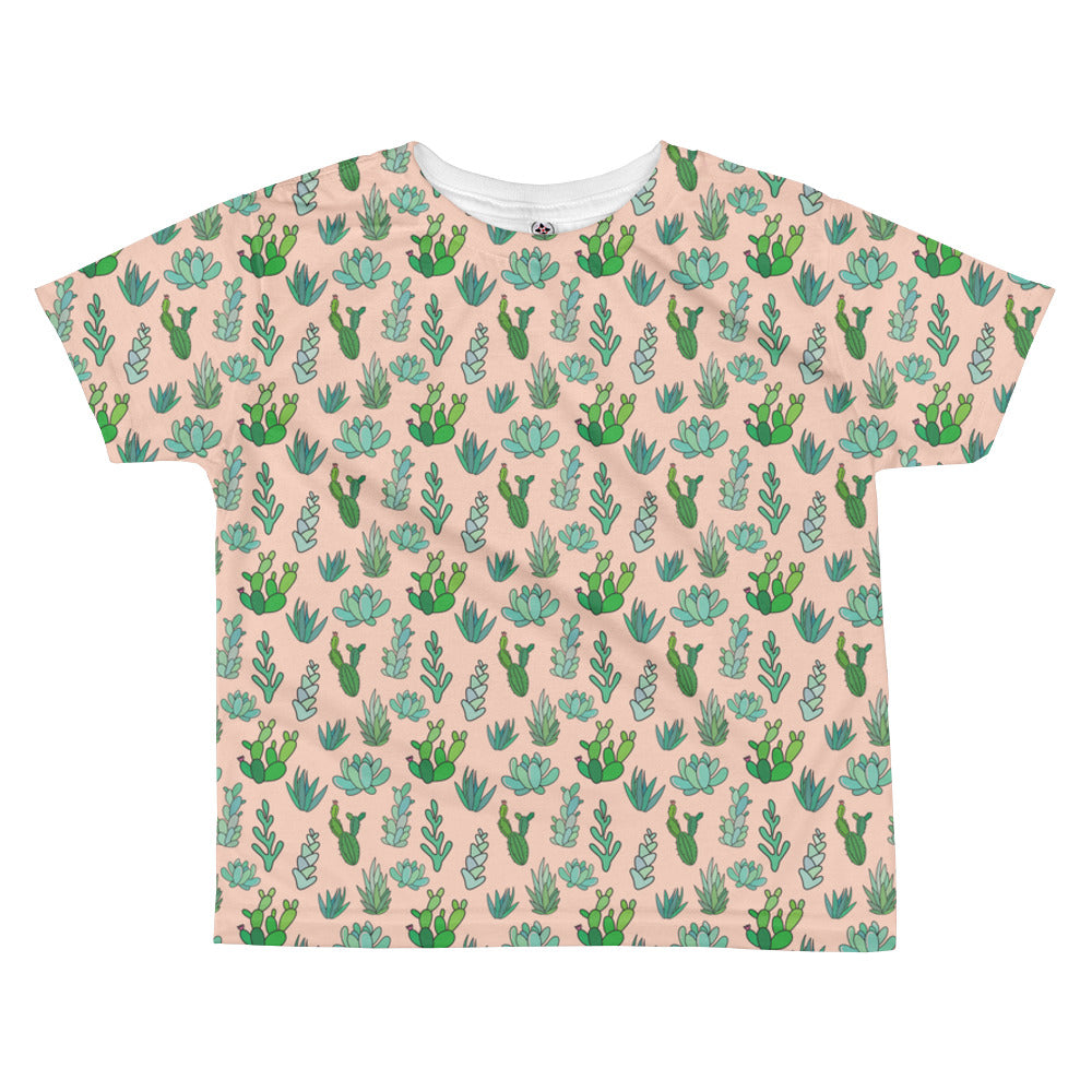 Succulent Cactus All-over kids sublimation T-shirt