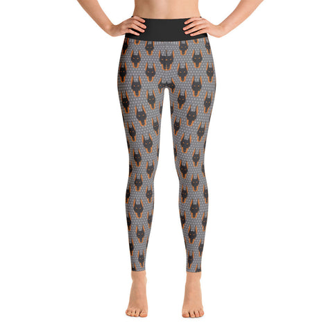 Doberman Yoga Leggings