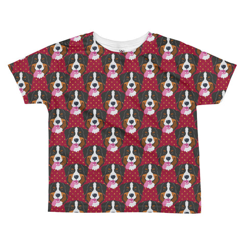 Bernese Mountain Dog All-over kids sublimation T-shirt