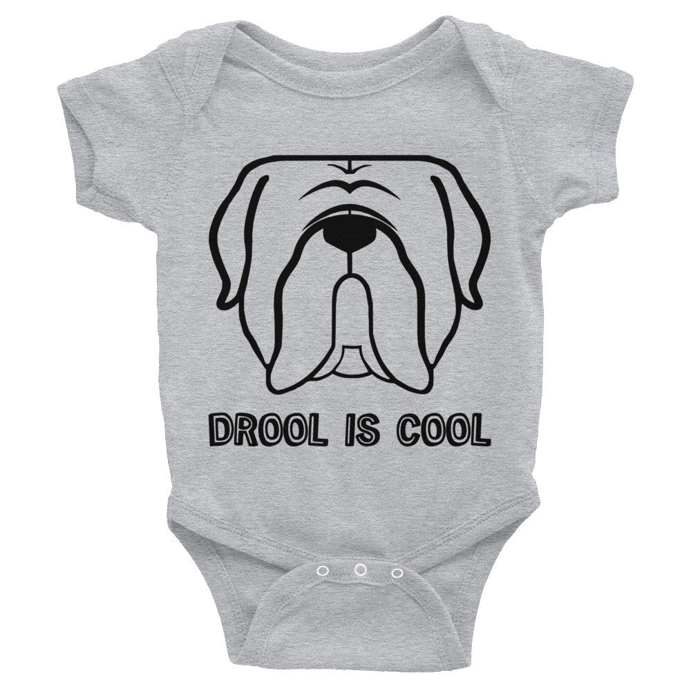 Drool is cool Mastiff Infant Bodysuit