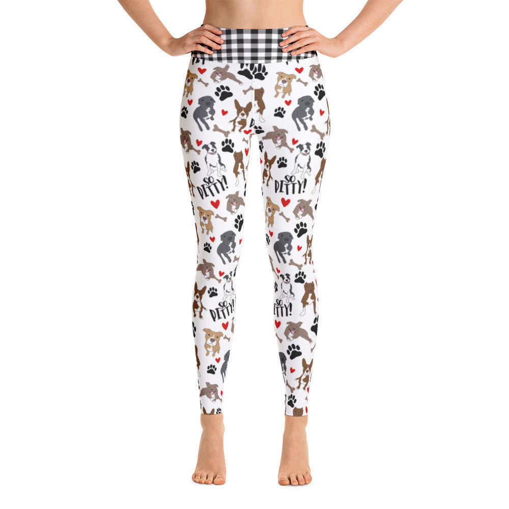 So Pitty Pitbull Yoga Leggings