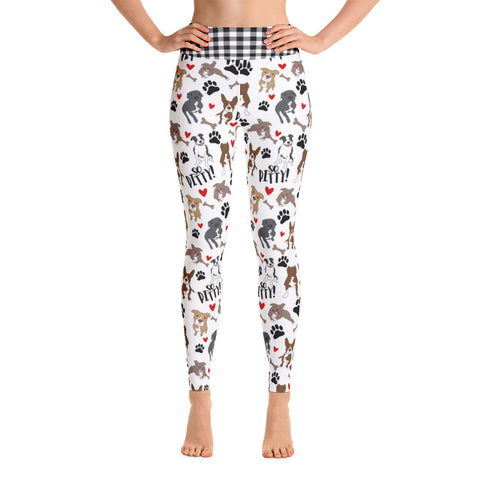 So Pitty ™ Pitbull Yoga Leggings