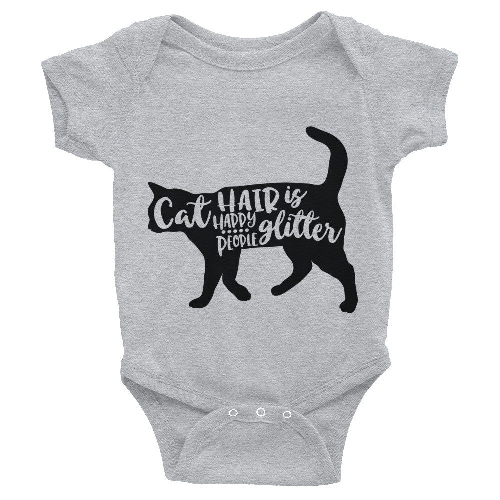 Cat Hair Infant Bodysuit