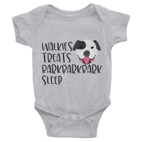 American Bulldog Infant Bodysuit