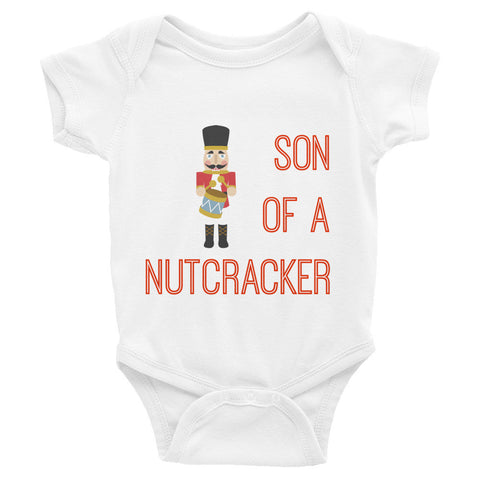 Son of a Nutcracker Infant short sleeve one-piece