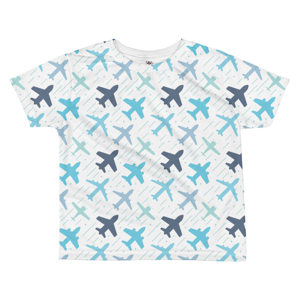 Airplane All-over kids sublimation T-shirt