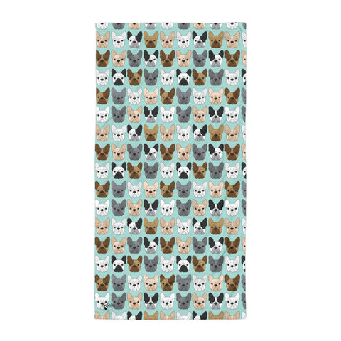 French Bulldog Towel