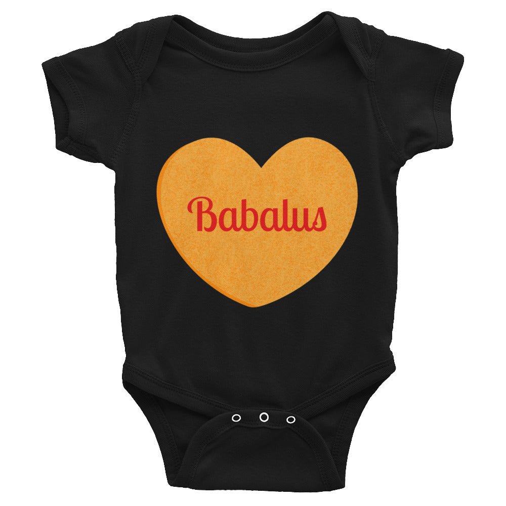 Babalus Conversation Heart Valentines Day Infant Bodysuit