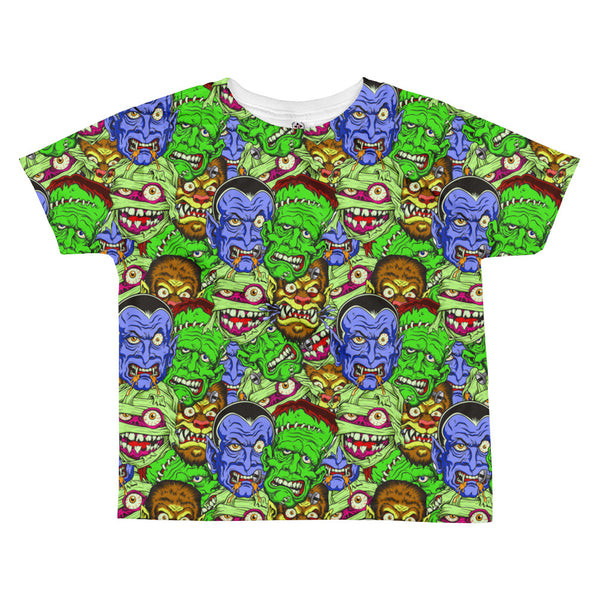 Movie Monster All-over kids sublimation T-shirt