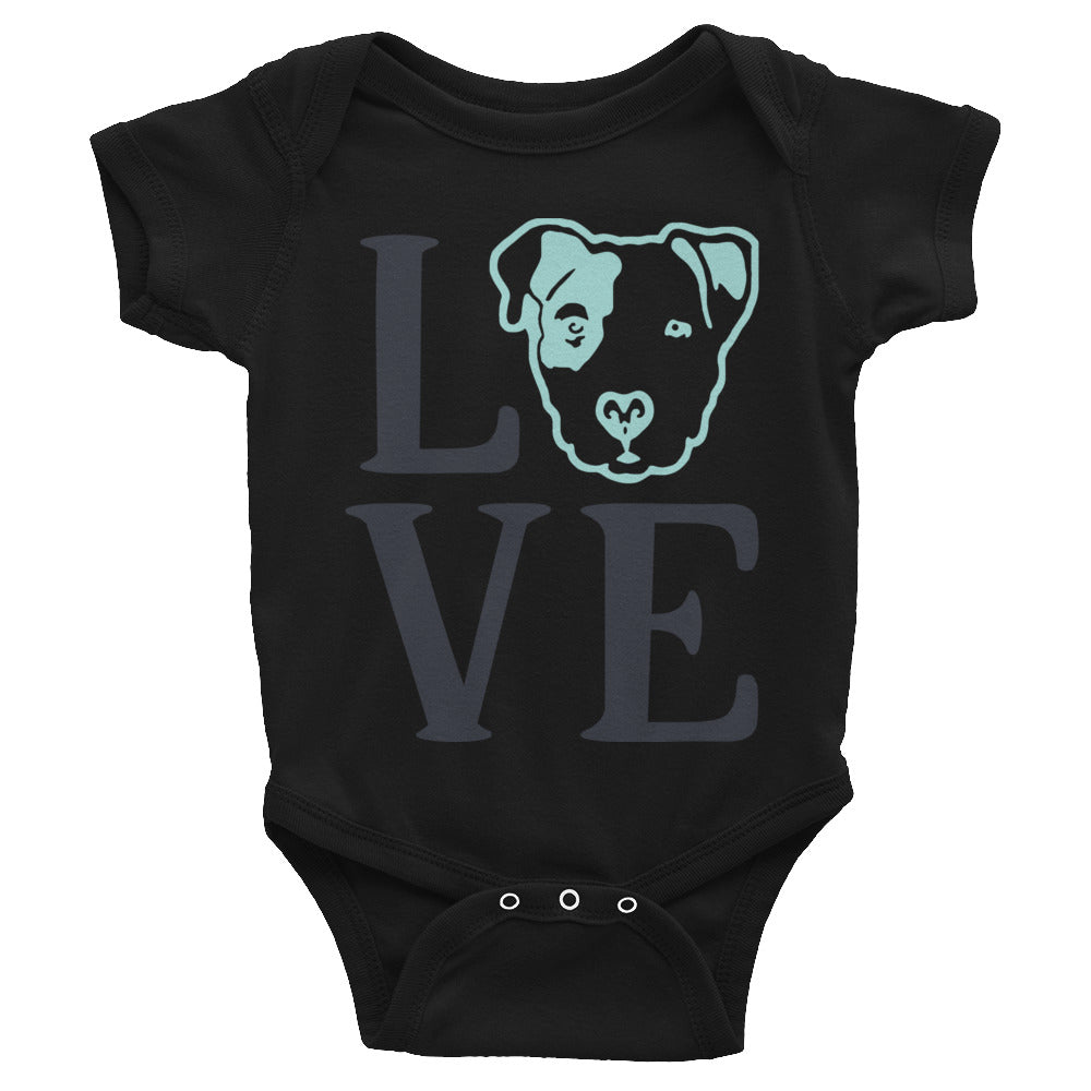 Pitbull Love Infant Bodysuit