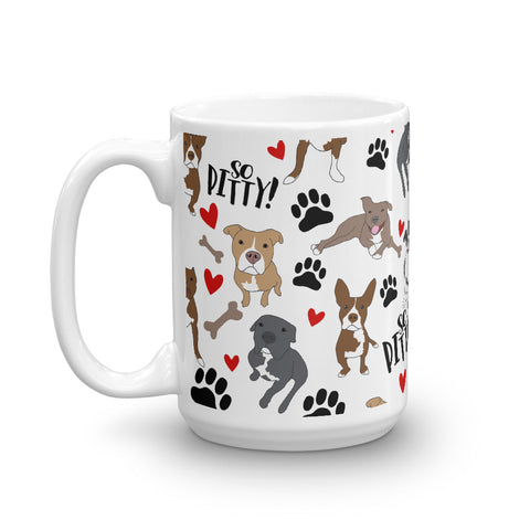 So Pitty ™ Pitbull Mug