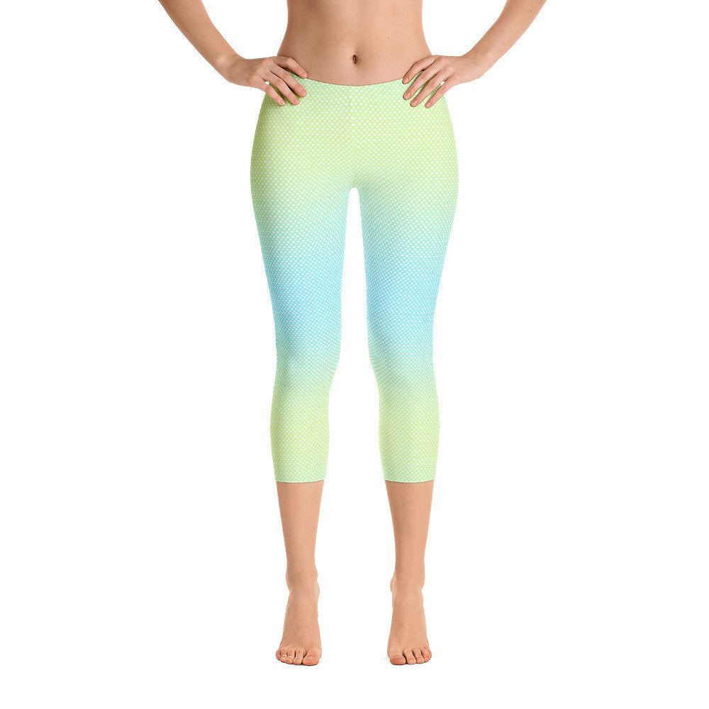 Mermaid Capri Leggings