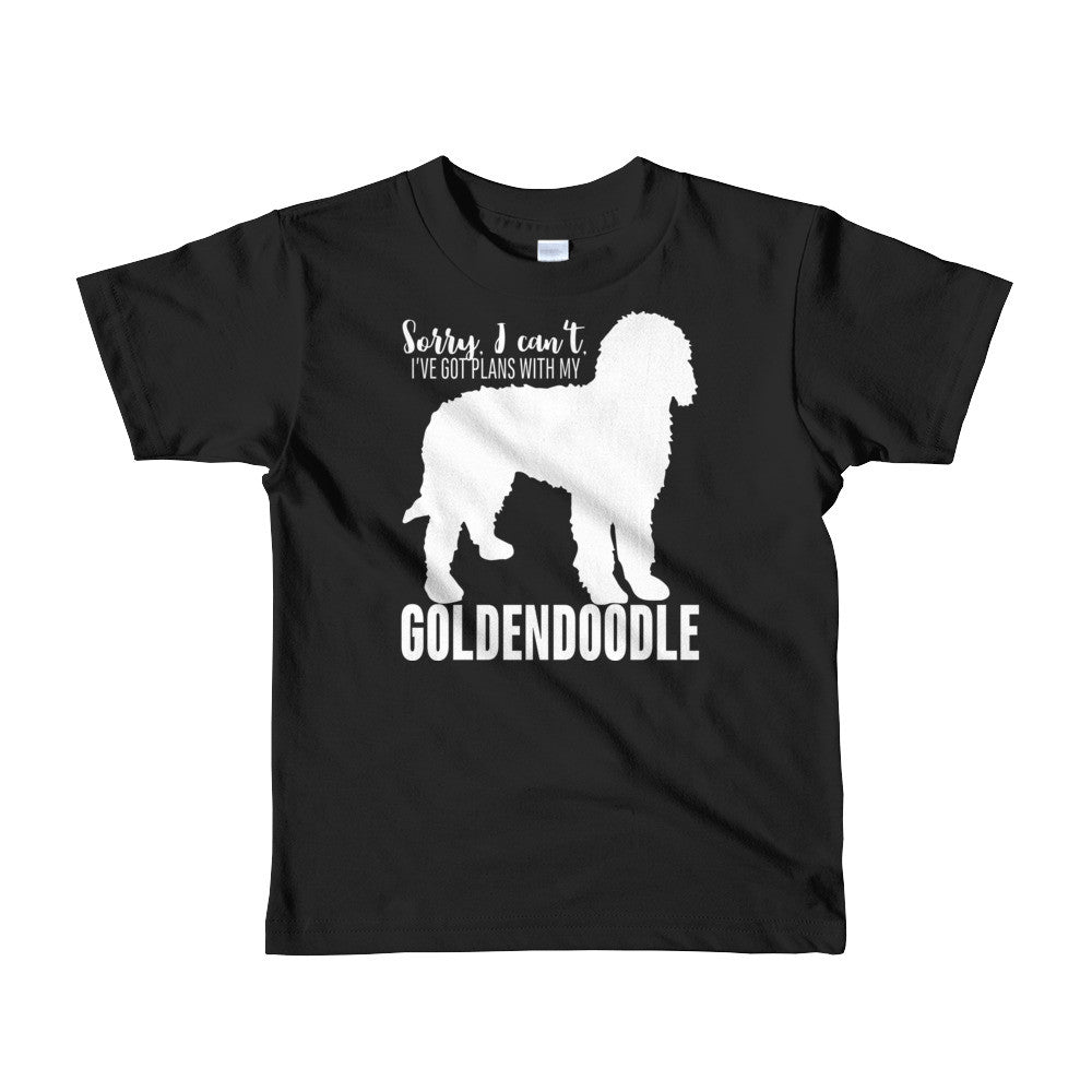 Golden doodle Goldendoodle Short sleeve kids t-shirt