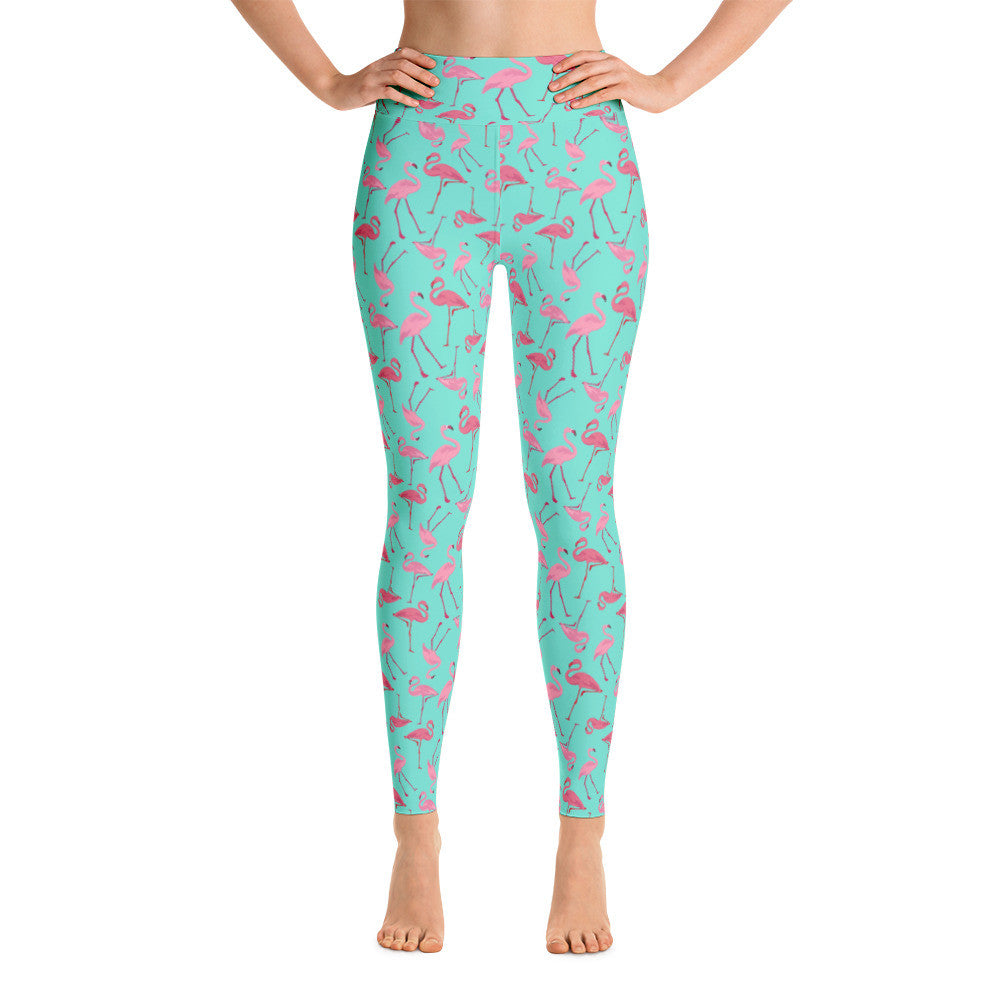 luxuriant in design best sell great discount Flamingo Yoga Leggings - Babalus By Lucy