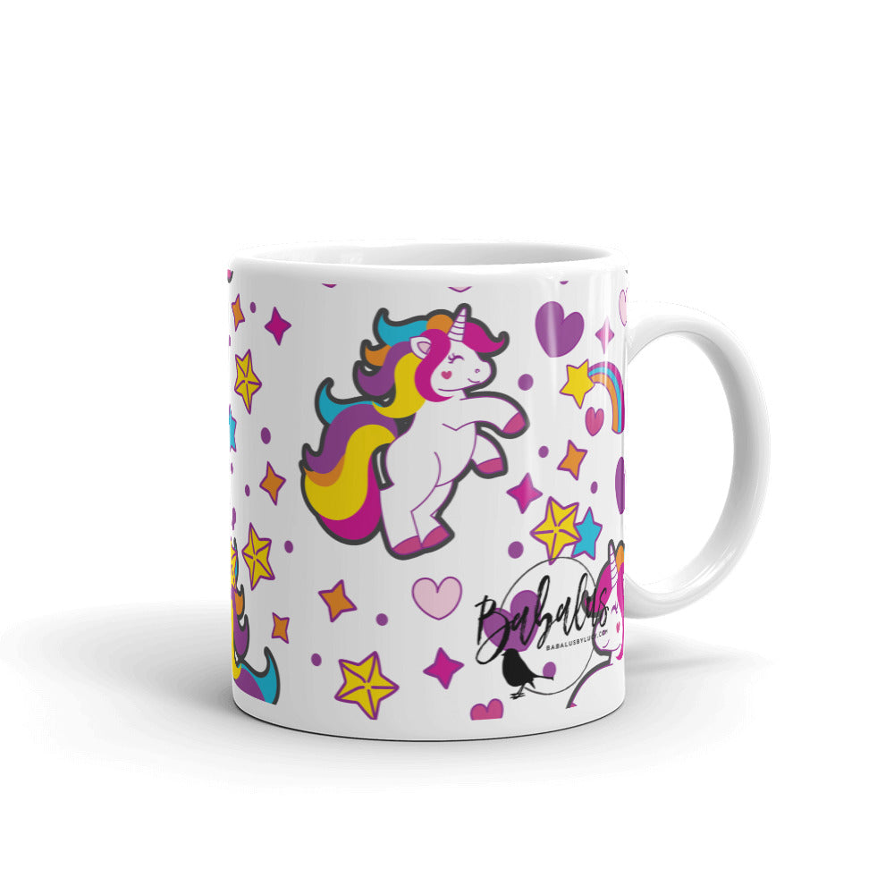 Born To Sparkle Unicorn Mug