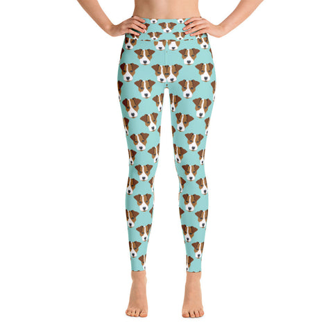Jack Russell Yoga Leggings