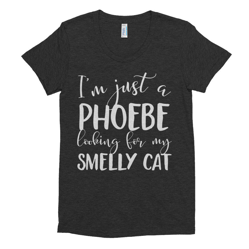 Phoebe Looking For My Smelly Cat Women's short sleeve soft t-shirt