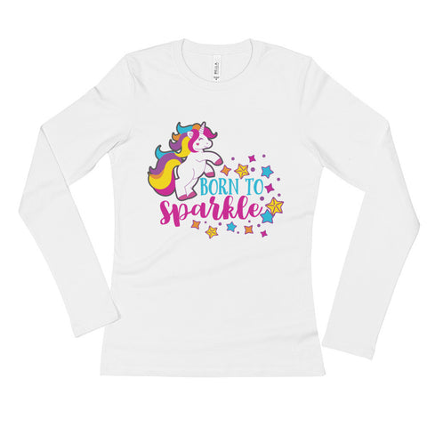 Unicorn Ladies' Long Sleeve T-Shirt