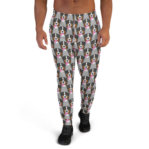 Bernese Mountain Dog Men's Joggers