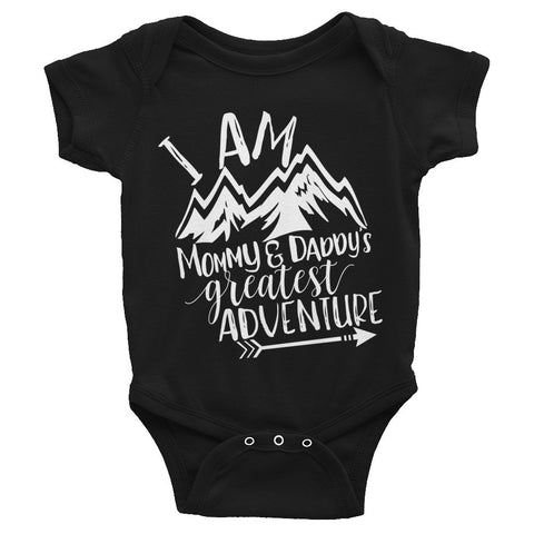 Mommy & Daddy's Greatest Adventure Infant Bodysuit
