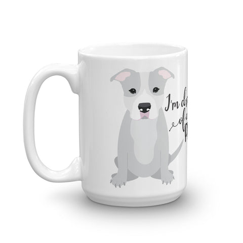 I'm Dreaming of a white Pitmas Pitbull Christmas Mug