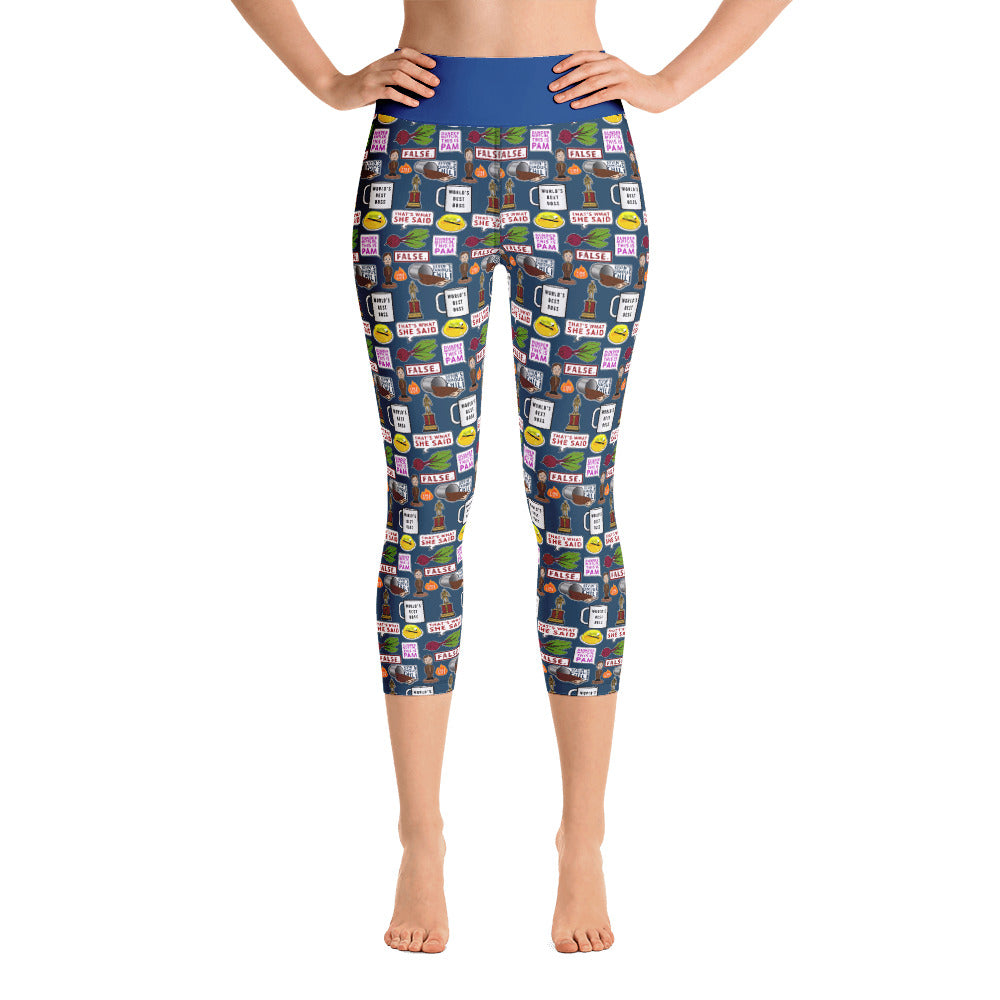 Paper Company Yoga Capri Leggings