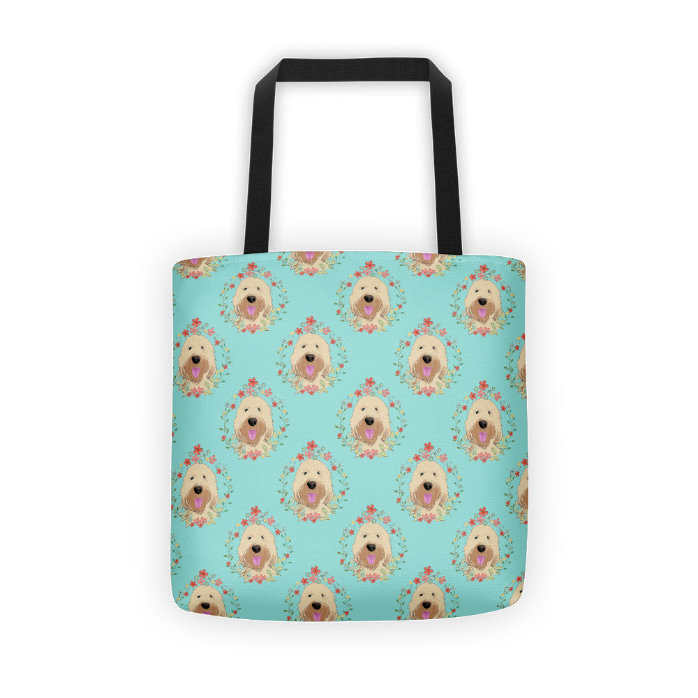 Goldendoodle / Wheaten Terrier Tote bag