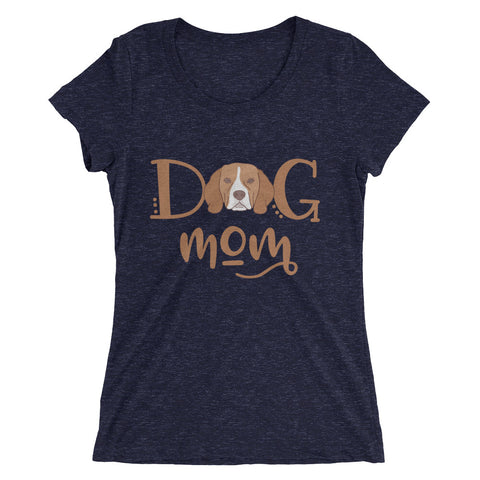 Beagle Dog Mom Ladies' short sleeve t-shirt