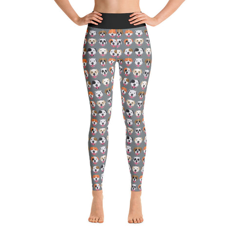 American Bulldog Yoga Leggings