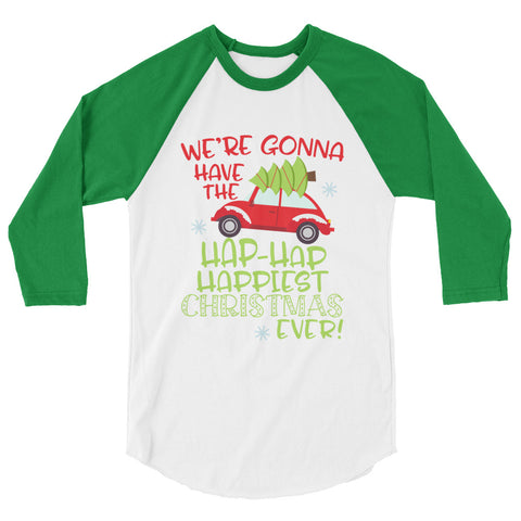 Christmas Vacation 3/4 sleeve raglan shirt