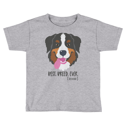 Bernese Mountain Dog Kids Short Sleeve T-Shirt