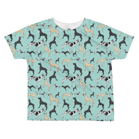 Great Dane All-over kids sublimation T-shirt