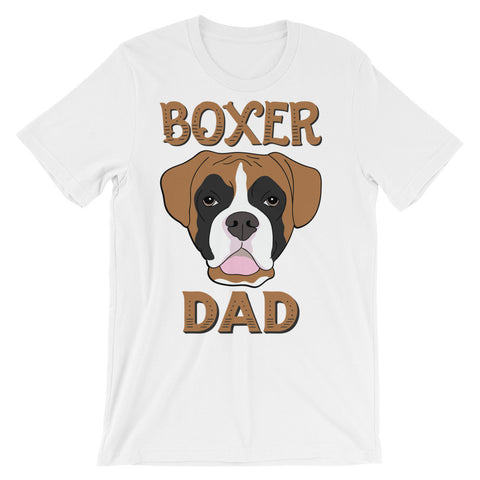 Boxer Dad Unisex short sleeve t-shirt