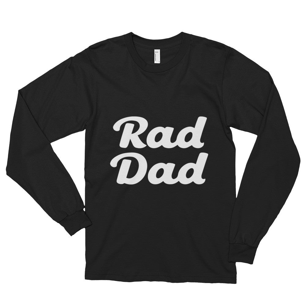 Rad Dad Long sleeve t-shirt (unisex)