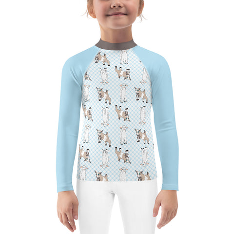 Goat Kids Rash Guard