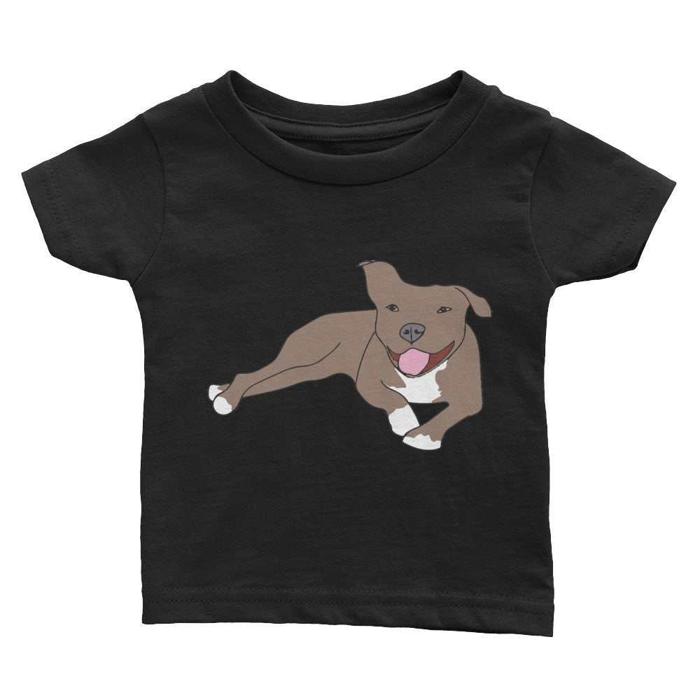 Tan Pitbull Infant Tee