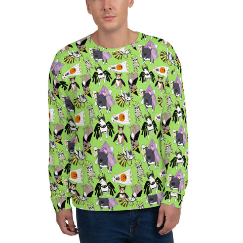 Halloween Doggies Unisex Sweatshirt