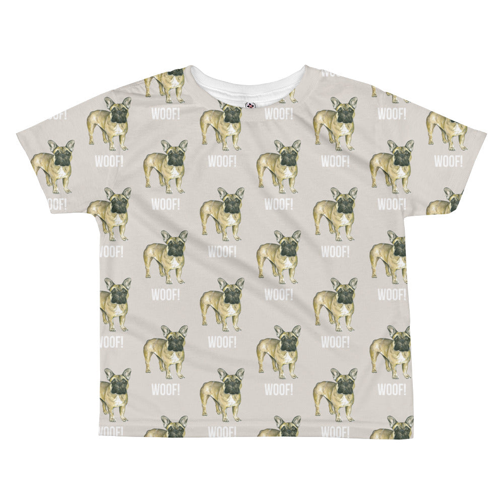 355d0dd2d French Bulldog All-over kids sublimation T-shirt. Images / 1 / 2